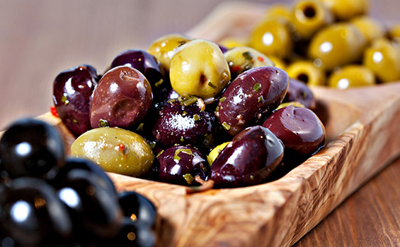 Image of Olives and Salads
