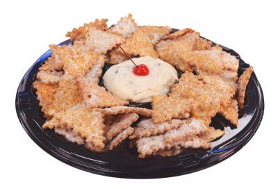 Cannoli Chip Tray