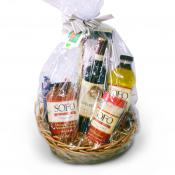 Pasta-Wine-Gift-Basket